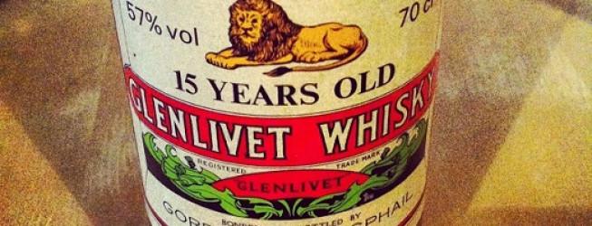 Alkohol Wieczoru #140: Glenlivet 15 yo Gordon McPhail