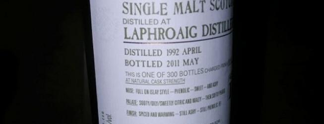 Alkohol Wieczoru #141: Laphroaig 19 yo, IB Douglas & Laing (OMC)