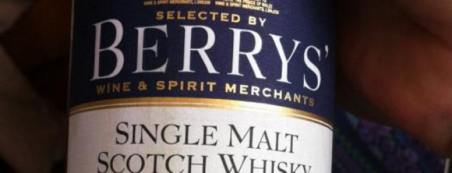 Alkohol wieczoru #175: Tormore 20 yo, 1992-2012, IB – Berry Bros & Rudd, cask no. 100154