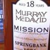 Alkohol wieczoru #176: Murray McDavid – Springbank 1991, Mission Gold Series, Bourbon, bottled at Bruichladdich, 285 bottles