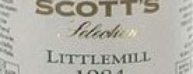 Alkohol wieczoru#285: LittleMill, IB, Scott's Selection, 1984-2006, 56% ABV