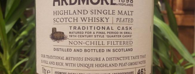 Alkohol wieczoru #275: Ardmore Single Malt Highland Peated Whisky