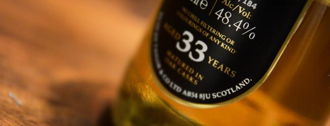 Alkohol wieczoru #283: Mosstowie 33 yo Rarest of the Rare by Duncan Taylor