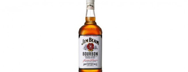 Alkohol wieczoru # 160: Jim Beam Kentucky Straight Bourbon Whiskey (White Label)