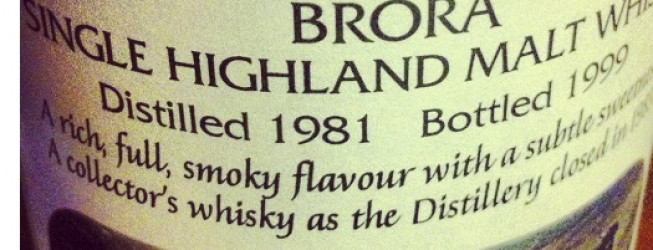 Alkohol wieczoru # 166: Brora 18 yo (1981-1999), IB – Lombard, Jewels of the Highlands