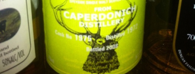 Alkohol wieczoru #169: Caperdonich 36 yo, 1972-2008, IB – Gordon & MacPhail, First Fill Sherry Butt