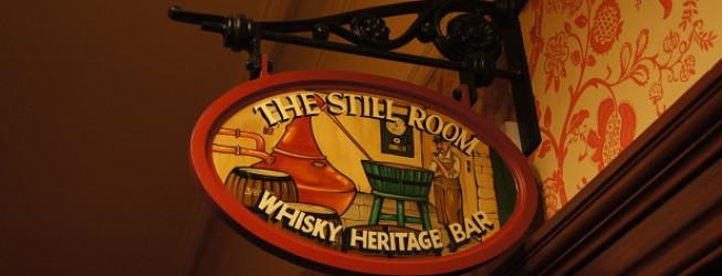 The Still Room Whisky Heritage Bar w Stromness Hotel na Orkadach w Szkocji