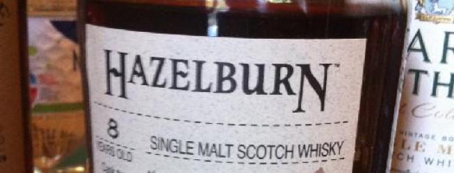 Alkohol wieczoru #178:  Hazelburn 8 yo, 5yo refill bourbon cask, 3yo in sauternes cask, June 2002 – February 2011, 2180 bottles, 55,9%