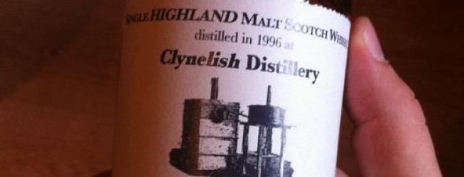Alkohol wieczoru #181: Clynelish 10yo, 1996 sherry, Auld Distillers Collection, 150 bottles