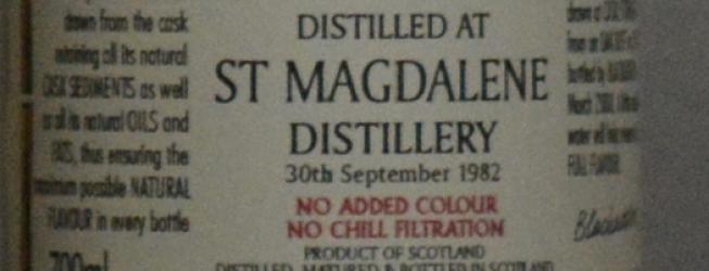 Saint Magdalene whisky 25 yo od Blackadder – jak smakuje?