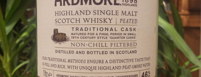Alkohol wieczoru #275: Ardmore Single Malt Highland Peated Whisky