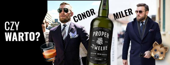 Jak smakuje Proper Twelve Whiskey? Historia marki Conora McGregora