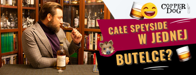 Copper Dog Whisky! Jak smakuje Blended Malt z hotelu Craigellachie w Speyside?