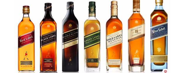 Kolory whisky Johnnie Walker – co je różni?