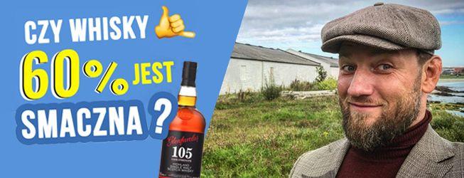 Jak smakuje Glenfarclas 105 single malt scotch whisky?