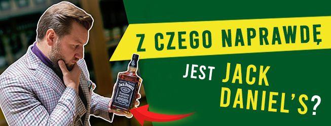 Z czego jest Jack Daniel's Tennessee Whiskey?