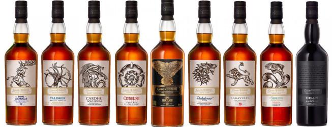 Kolekcja whisky Gra o Tron – czy warto zainwestować? Ocena każdej butelki!