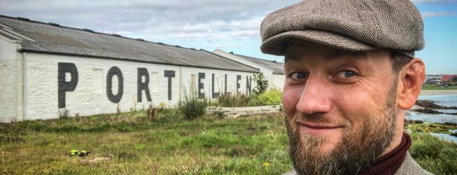 Przemysłowa słodownia Port Ellen Maltings – rzadkie odwiedziny!