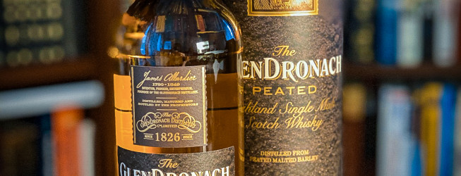 GlenDronach Peated – dymna single malt Scotch whisky!