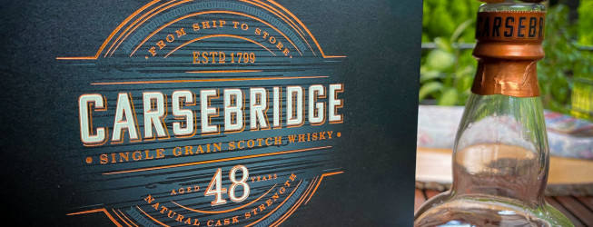 Carsebridge whisky – jak smakuje 48yo single grain?