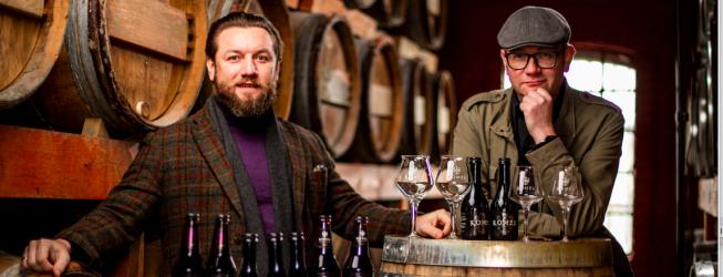 Fortuna Komes Wymrażany Porter Bałtycki Whisky Barrel Aged – degustacja z Tomkiem Kopyrą