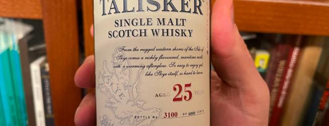 Talisker 25 yo single malt Scotch whisky – jak smakuje?