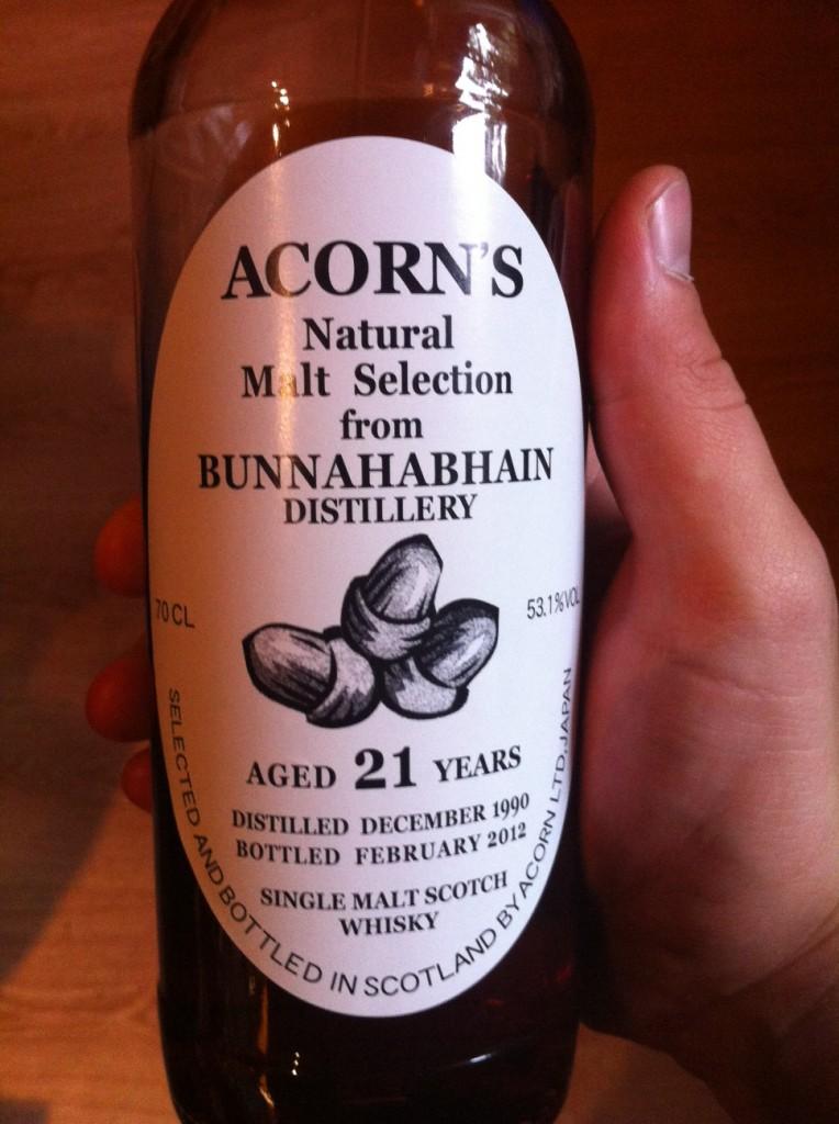Bunnahabhain 1990 BBR/Acron Sherry