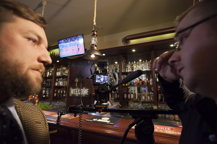 Plan zdjęciowy do filmu o piwie
