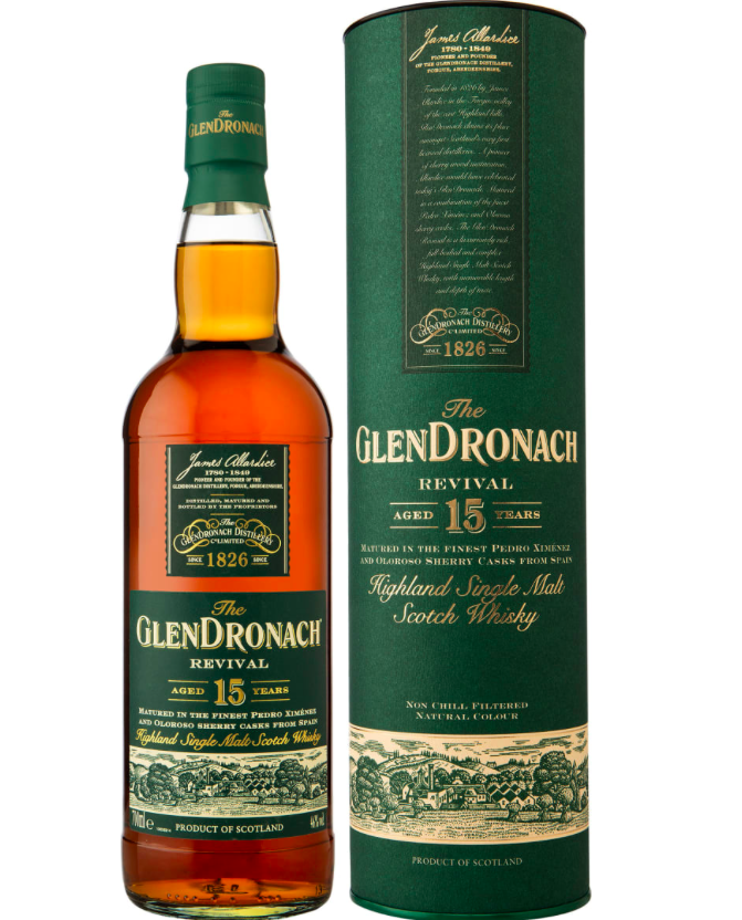 Glendronach 15 yo Revival