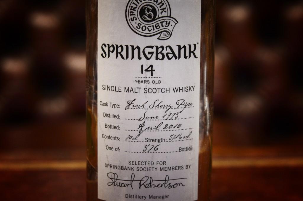 Springbank Society Bottle1
