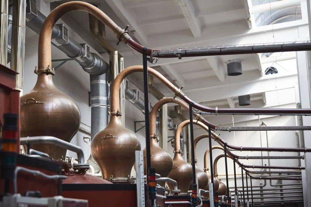 Alembics at shustoff distillery