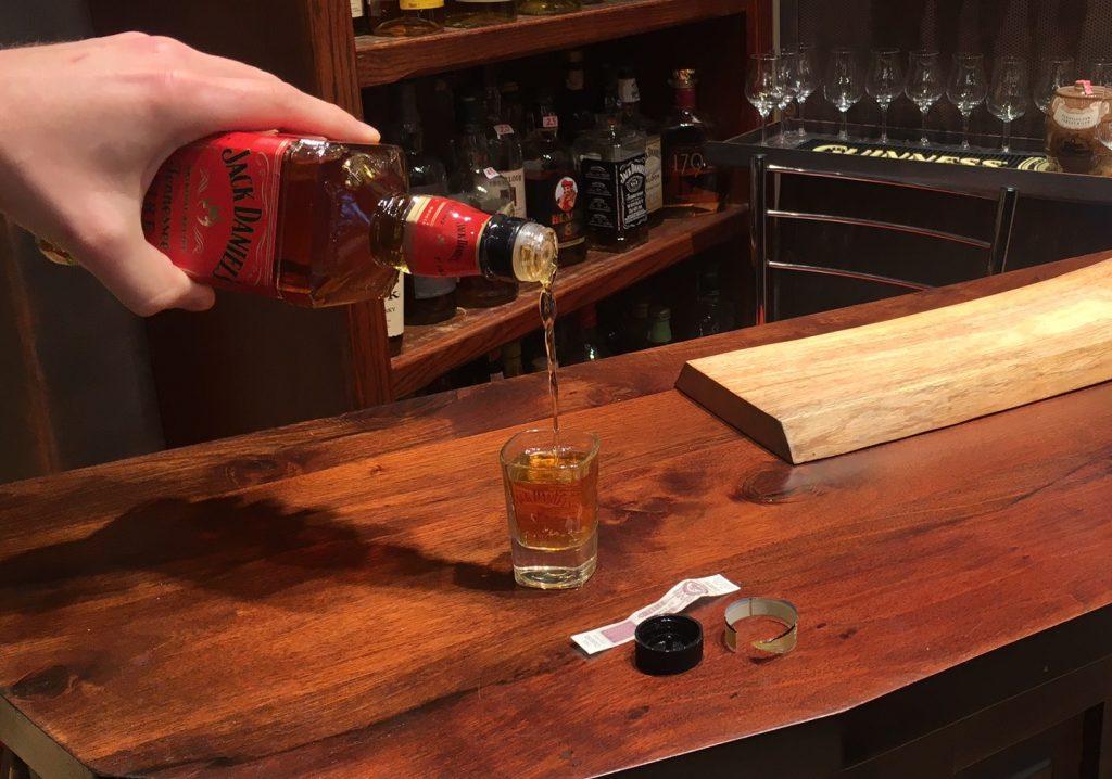 Jack Daniels Tennessee Fire Tasting