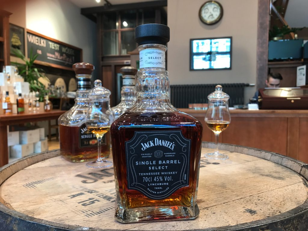 Jack DAniels Tennessee Whiskey New Bottle