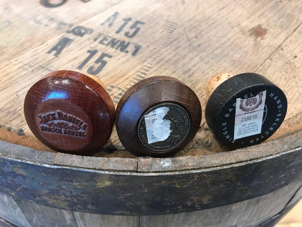 Jack Daniels Single Barrel Different Corks