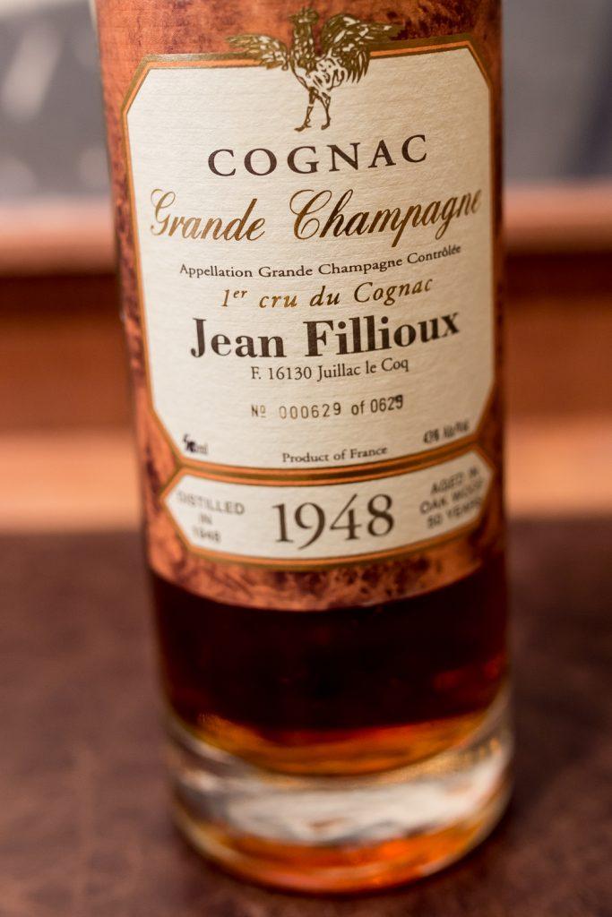 Jean Fillioux Cognac Vintage1948