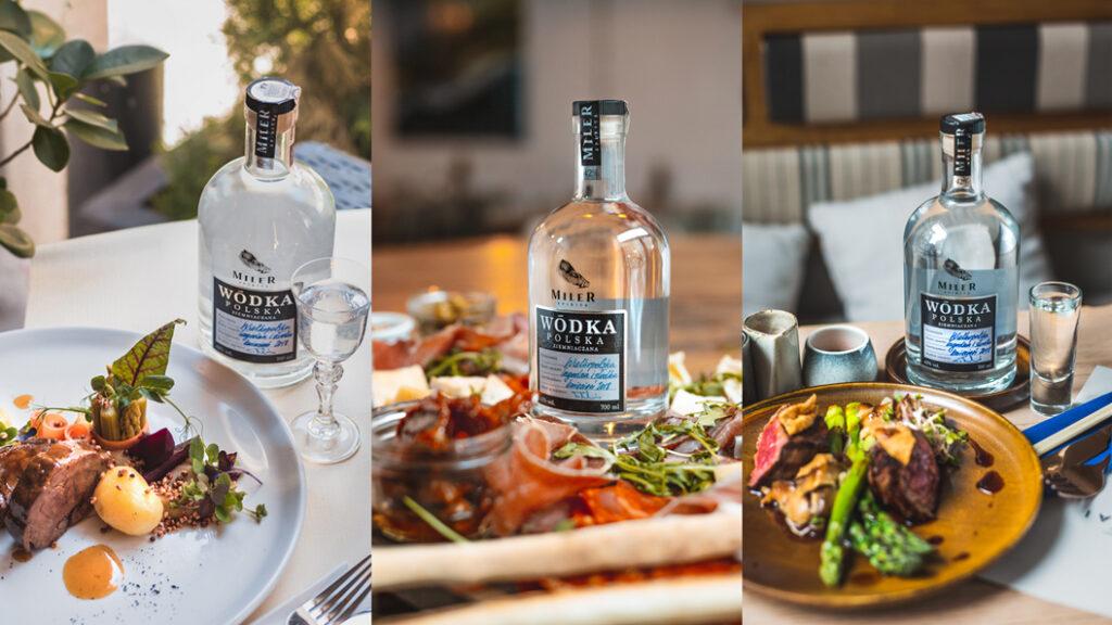 Wódka Miler Spirits w restauracjach