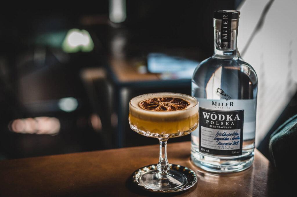 Wódka Miler Spirits w koktajlu