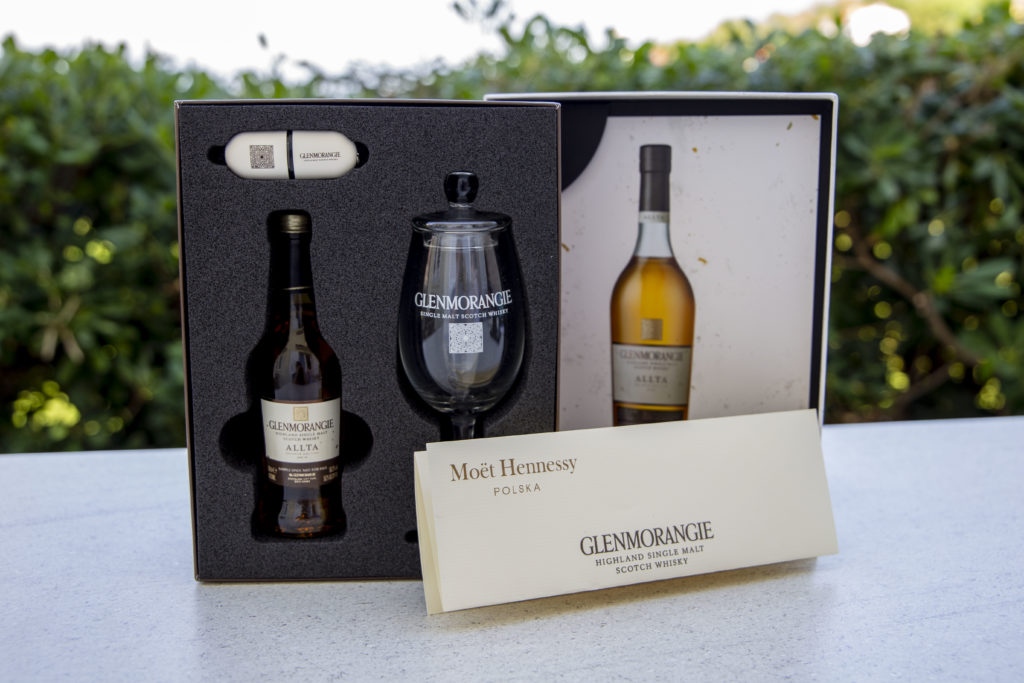 Glenmorangie Allta Press Kit