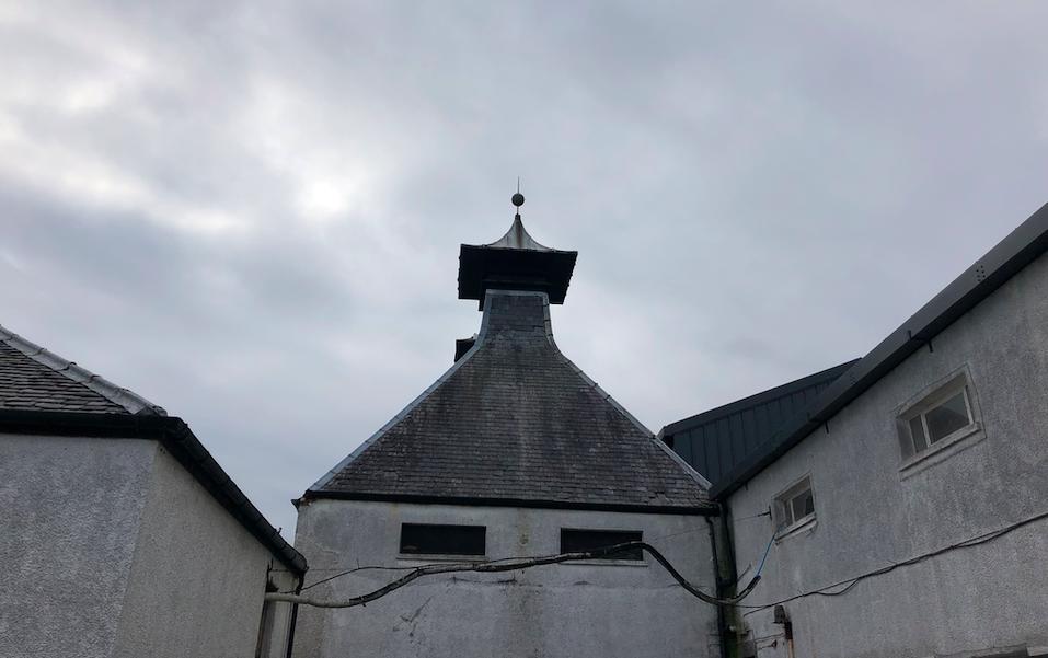 Pagodowy dach i Destylarnia Port Ellen
