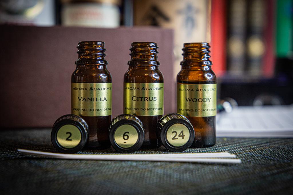 zestaw aromatów whisky