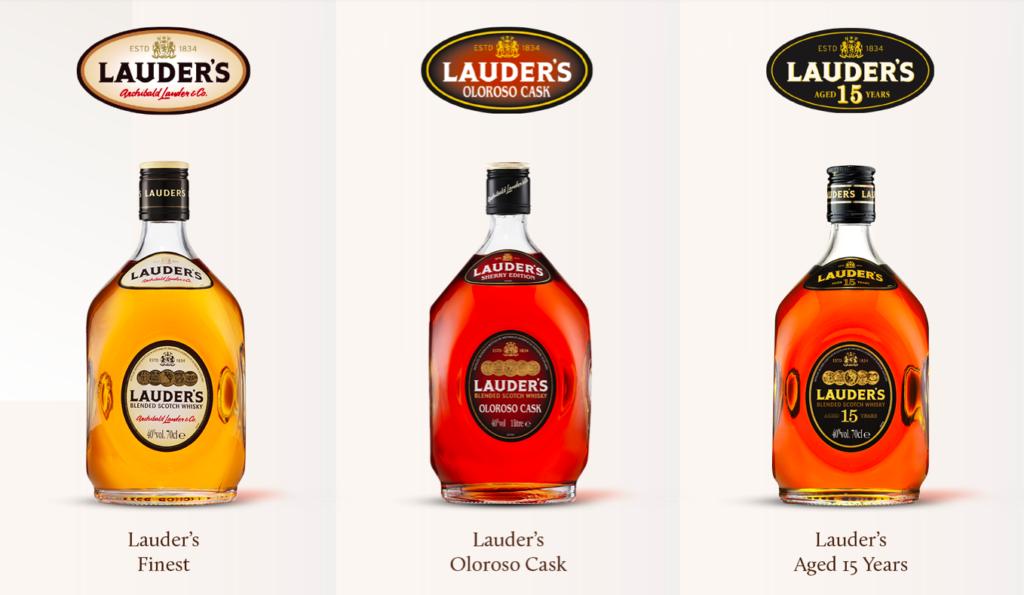 Lauder's whisky