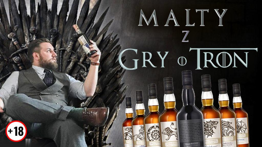 Kolekcja whisky Gra o Tron
