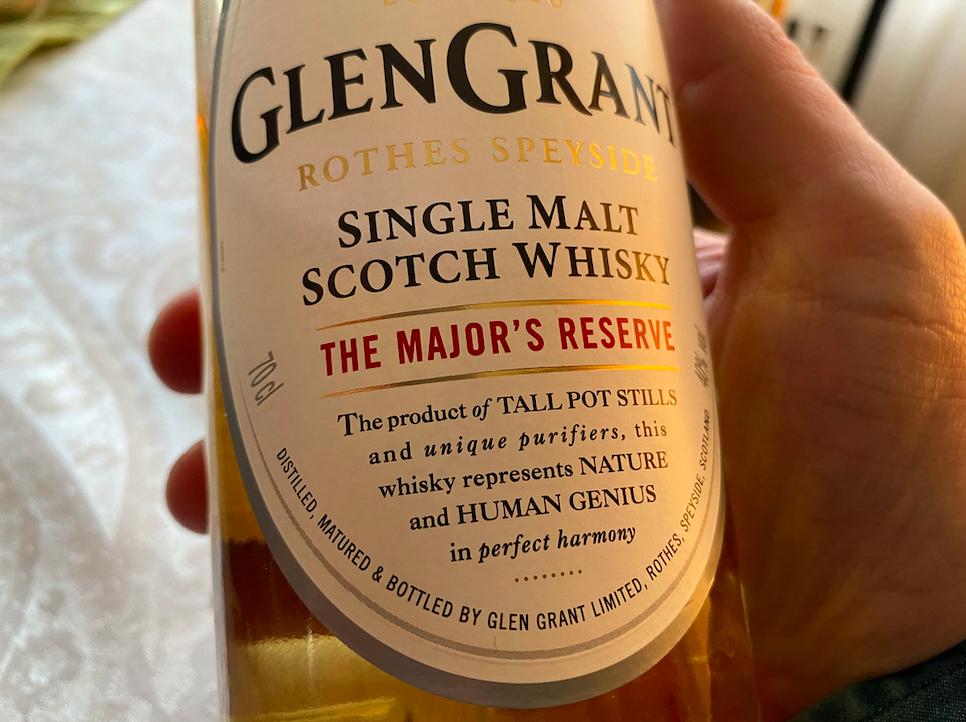 Glen Grant whisky