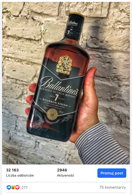 Ballantine's 7 yo Bourbon finish