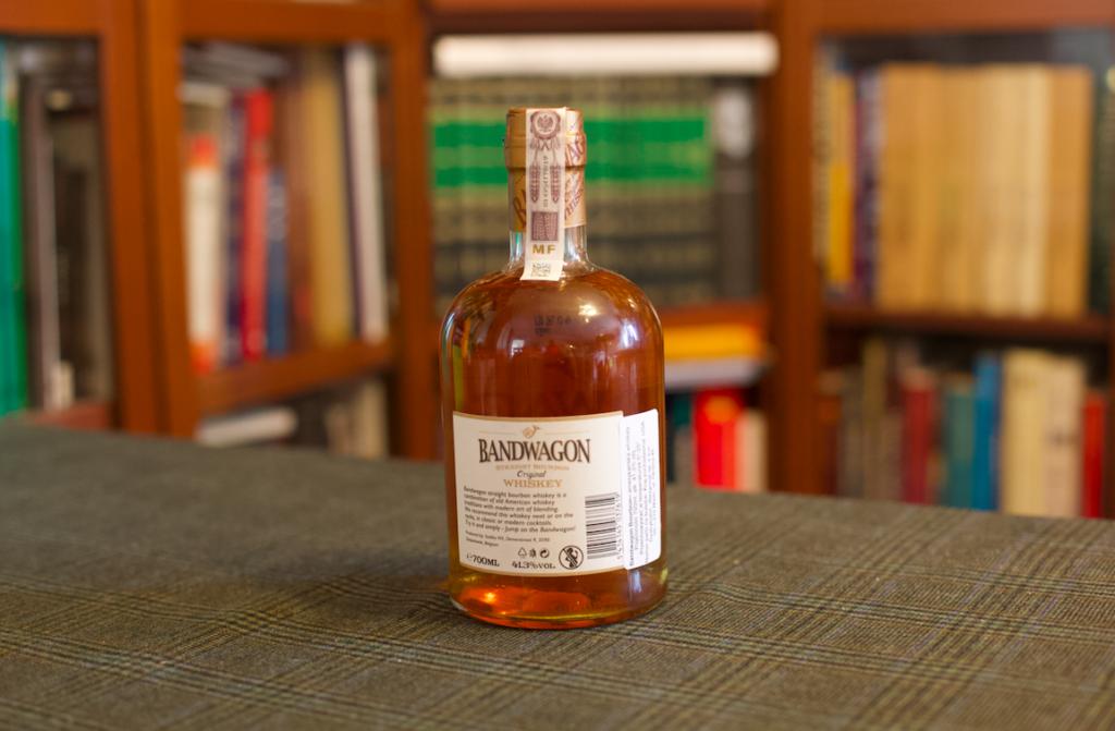 Bandwagon whiskey bourbon