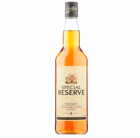Whisky z Tesco